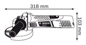 Ugaona brusilica Bosch GWS 7-125
